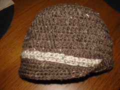 Crocheted Adult Hat Pattern