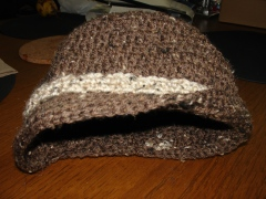 Crocheted Adult Hat, Women's Crocheted Hat