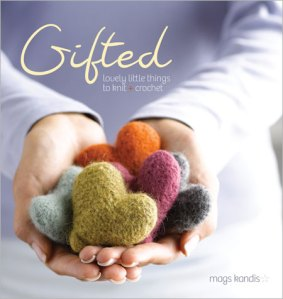 knitted hearts, felted hearts, knitting pattern