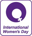 International Women's Day Logo, International Woman's Day, IWD